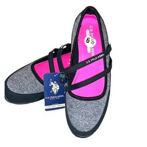 U.S. POLO ASSN. Comfort Insole Sneaker w/ Straps